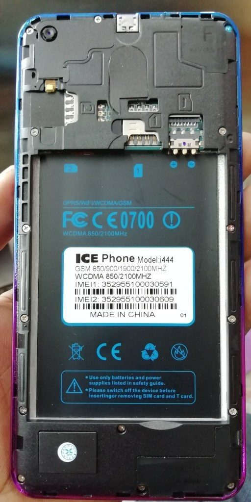 ICE Phone i444 Flash File