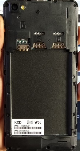 KXD W50 Flash File MT6580 Stock Firmware | Android Fix Zone