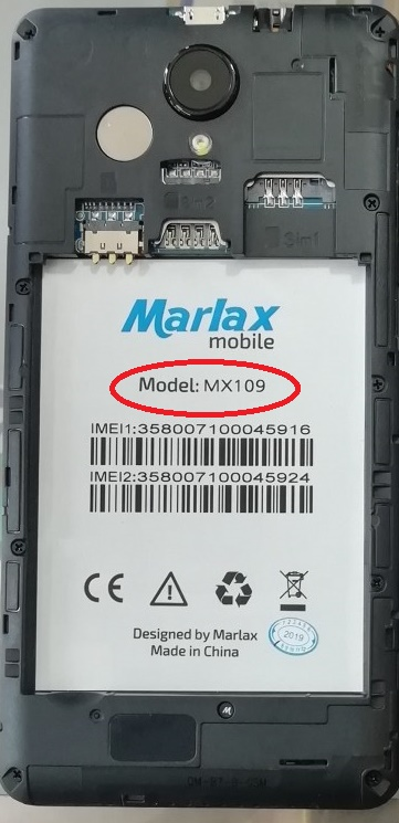 Marlax MX109 Flash File