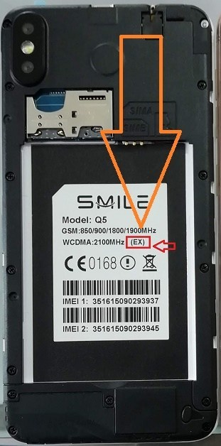 Smile Q5 Flash File EX MT6572