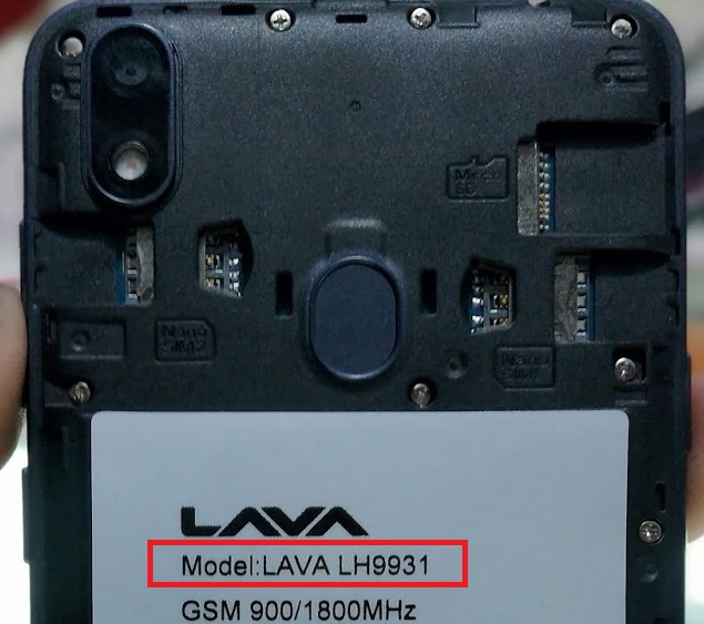 Lava iris 54 LH9931 Flash File